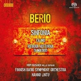 SINFONIA/CALMO FINNISH RSO/HANNU LINTU L. BERIO, CD
