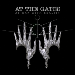 AT WAR WITH REALITY *FIFTH FOR SWEDISH DEATH METALLERS AND 1ST SINCE 1995* AT THE GATES, CD