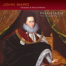 VERSE ANTHEMS PHANTASM - CHOIR OF MAGDALENE COLLEGE OXFORD J. WARD, CD
