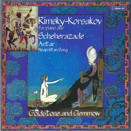 FOR PIANO DUO ANTHONY GOLDSTONE/CAROLINE CLEMMOW RIMSKY-KORSAKOV, N., CD