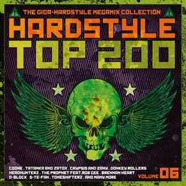 HARDSTYLE TOP 2000 VOL.6 V/A, CD