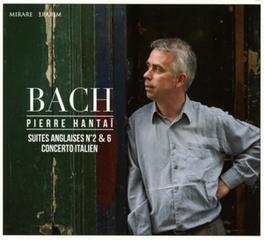 SUITES ANGLAISES NO.2 & 6 PIERRE HANTAI J.S. BACH, CD