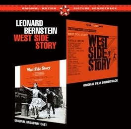 WEST SIDE STORY PLUS 10 BONUS TRACKS LEONARD BERNSTEIN, CD