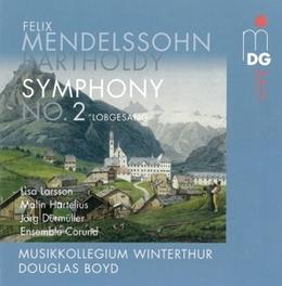 SYMPHONY NO.2-LOBGESANG MUSIKKOLLEGIUM WINTERTHUR/DOUGLAS BOYD MENDELSSOHN-BARTHOLDY, F., CD