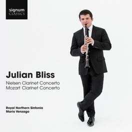 NIELSON CLARINET CONCERTO ROYAL NORTHERN SINFONIA/MARIO VENZAGO/J.BLISS NIELSEN/MOZART, CD