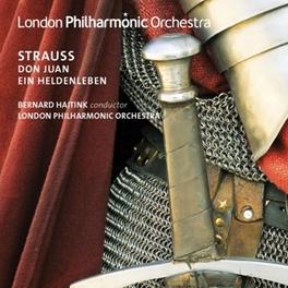 DON JUAN/EIN HELDENLEBEN LONDON PHILHARMONIC ORCHESTRA/BERNARD HAITINK R. STRAUSS, CD