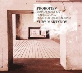 SONATE NO.5 & 6 YURY MARTINOV S. PROKOFIEV, CD