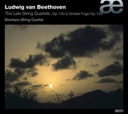 LATE STRING QUARTETS OP.1 BRENTANO STRING QUARTET L. VAN BEETHOVEN, CD