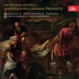 LAMENTATIONS OF JEREMIAH JANA SEMERADOVA COLLEGIUM MARIANUM, CD