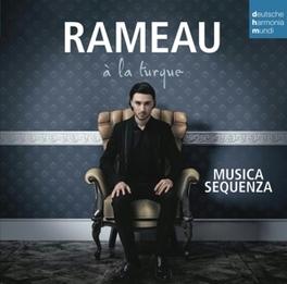 A LA TURQUE MUSICA SEQUENZA/TANBURI MUSTAFA CAVUS Musica Sequenza, CD