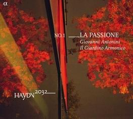LA PASSIONE IL GIARDINO ARMONICO/GIOVANNI ANTONINI Gluck, Christoph Willibald, CD