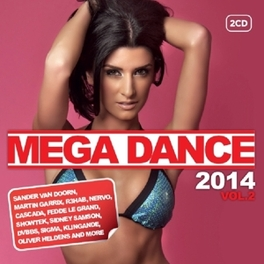 MEGA DANCE 2014 VOL.2 V/A, CD
