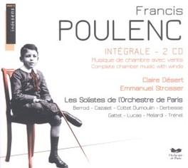 COMPLETE CHAMBER MUSIC.. BERROD/STROSSER/LUCAS/GATTET/CAZALE Audio CD, F. POULENC, CD