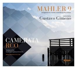 MAHLER:SYMPHONY NO.9 GUSTAVO GIMENO/ARR.FOR CHAMBER ENSEMBLE BY KLAUS SIMON CAMERATA RCO, Audio Visuele Media