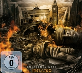 INFECTED -CD+DVD- EMERGENCY GATE, CD