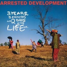 3 YEARS, 5 MONTHS.. -HQ- 180GR./INSERT/25TH ANN./2000 CPS ON WHITE VINYL ARRESTED DEVELOPMENT, Vinyl LP