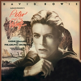 PETER & THE WOLF -HQ- 180GR. / INSERT / PACKED IN STURDY PVC BAG DAVID BOWIE, LP