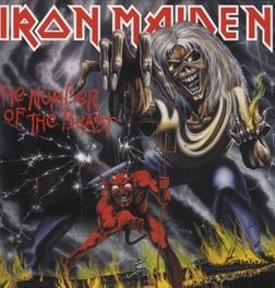 NUMBER OF THE BEAST IRON MAIDEN, Vinyl LP