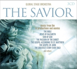SAVIOR ON SCREEN MUSIC FROM THE BIBLE/JESUS OF NAZARETH/SON OF GOD FILMS GLOBAL STAGE ORCHESTRA, CD