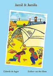 Jamil en Jamila hoe kinderen leven in een vluchtelingenkamp, Elsbeth de Jager, Hardcover