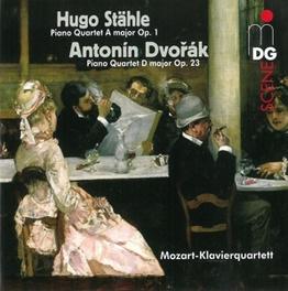 PIANO QUARTET A MAJOR OP. MOZART KLAVIERQUARTETT DVORAK/STAHLE, CD