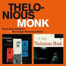PLAYS DUKE ELLINGTON/ UNI .. /UNIQUE THELONIOUS MONK MONK, THELONIOUS -TRIO-, CD