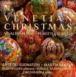 VENETIAN CHRISTMAS ARTE DEI SUONATORI/MARTIN GESTER/RUBY HUGHES/AKAKPO/EWA V/A, CD