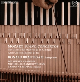 PIANO CONCERTO NO.14/21 DIE KOLNER AKADEMIE/M.A.WILLENS/BRAUTIGAM W.A. MOZART, CD