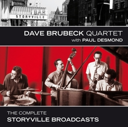 COMPLETE STORYVILLE.. .. BROADCASTS - PLUS 2 BONUS TRACKS BRUBECK, DAVE -QUARTET- &, CD