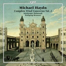 COMPLETE WIND CONCERTOS V SALZBURGER HOFKAPELLE/LINDE BRUNMAYR-TUTZ M. HAYDN, CD