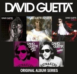 ORIGINAL ALBUM SERIES DAVID GUETTA, CD