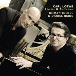 LIEDER & BALLADEN ROMAN TREKEL/DANIEL HEIDE C. LOEWE, CD
