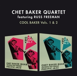 COOL BAKER VOL. 1 & 2 & RUSS FREEMAN - 2 ON 1CD + 4 BONUS TRACKS BAKER, CHET -QUARTET-, CD