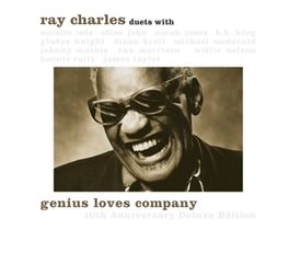 GENIUS LOVES.. -DELUXE- .. COMPANY RAY CHARLES, CD