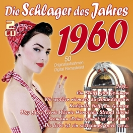 DIE SCHLAGER DES JAHRES60 .. 1960 V/A, CD