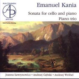 CELLO SONATA/PIANO TRIO LAWRYNOWICZ/GEBSKI E. KANIA, CD