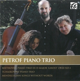 WORKS FOR PIANO TRIO PETROF PIANO TRIO, CD