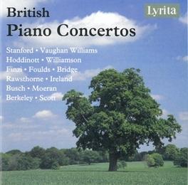 BRITISH PIANO CONCERTOS GERALD FINZI, JOHN FOULDS, LENNOX BERKELEY A.O. V/A, CD