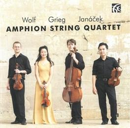WORKS FOR STRING QUARTET AMPHION STRING QUARTET, CD