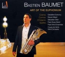 ART OF THE EUPHONIUM PARIS WIND ENSEMBLE & BRASS BAND BASTIEN BAUMET, CD