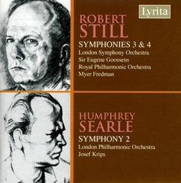 SYMPHONY NO.3/4 & NO.2 LONDON SYMPHONY ORCHESTRA/EUGENE GOOSSENS Audio CD, STILL/SEARLE, CD