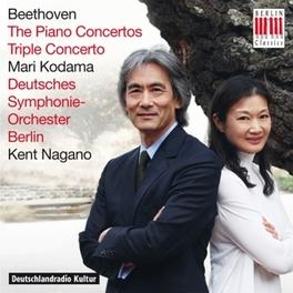 PIANO CONCERTOS/TRIPLE.. .. CONCERTO//MARI KODAMA/DEUTSCHES S.O. L. VAN BEETHOVEN, CD