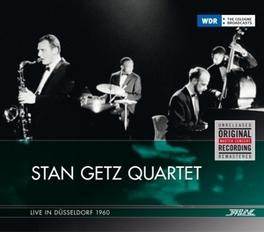 LIVE IN DUSSELDORF 1960 GETZ, STAN -QUARTET-, CD