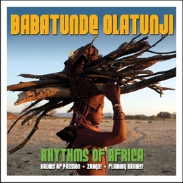 RHYTHMS OF AFRICA * DRUMS OF PASSION/ZUNGO!/FLAMING DRUMS! * BABATUNDE OLATUNJI, CD