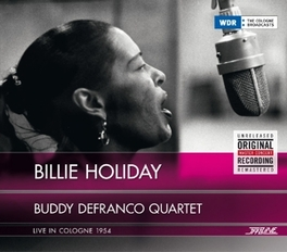 LIVE IN COLOGNE 1954 W/BILLIE HOLIDAY DEFRANCO, BUDDY -QUARTET-, CD