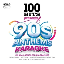 100 HITS 90S ANTHEMS.. .. KARAOKE V/A.=KARAOKE=, CD
