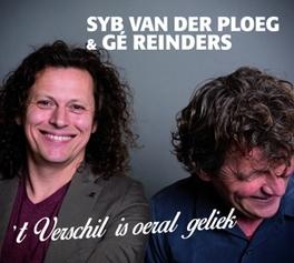 VERSCHIL IS OERAL GELIEK PLOEG, SYB VAN DER & GE R, CD