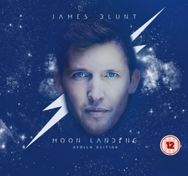 MOON LANDING (APOLLO.. .. EDITION) CD+DVD - 5 NEW TRACKS + LIVE DVD JAMES BLUNT, CD