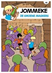 JOMMEKE 049. DE GROENE MASKERS