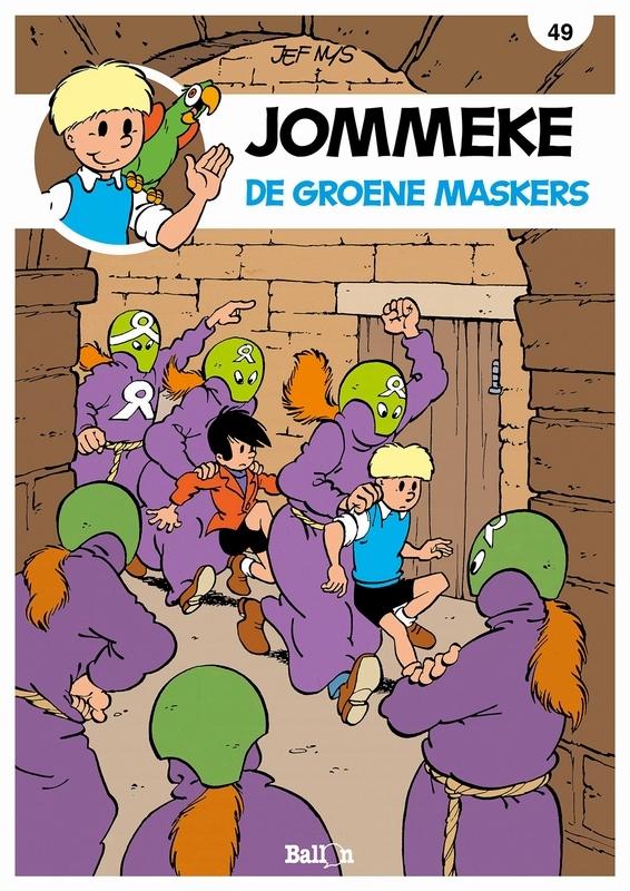 JOMMEKE 049. DE GROENE MASKERS JOMMEKE, Nys, Jef, Paperback
